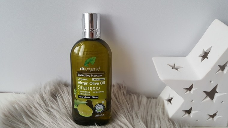 dr. organic shampooing huile olive