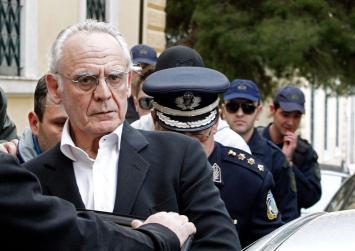 Απορρίφθηκε το αίτημα αποφυλάκισης του Τσοχατζόπουλου