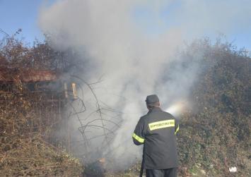 Χωρίς ενεργό μέτωπο η πυρκαγιά στη Γάλυπε Χερσονήσου