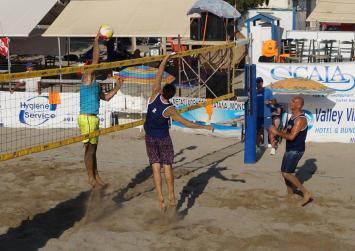 Υγρασία και ζέστη , τα χαρακτηριστικά της 2ης ημέρας του Matala master's beach volley
