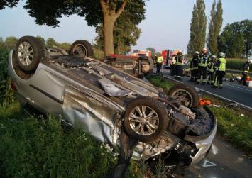 """Το αυτοκίνητό της """"πέταξε"""", προσγειώθηκε και η οδηγός βγήκε αλώβητη!"""