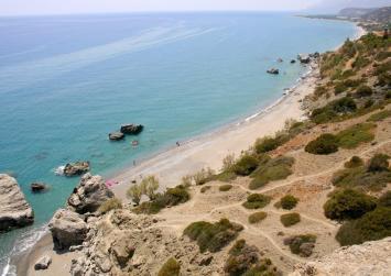 """Η απίθανη παραλία """"Ληστής"""" της Νότιας Κρήτης (φώτο)"""