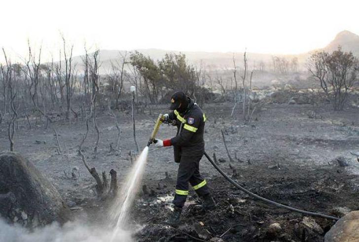Τέθηκε υπό μερικό έλεγχο η φωτιά στο Αντισκάρι