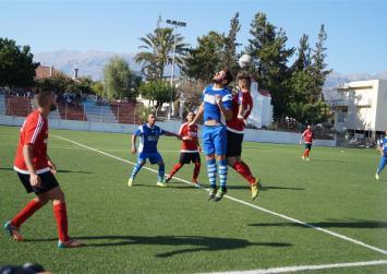 Ανώτερος ο Ηρόδοτος πήρε άνετα την νίκη (1-5) και  πρόκριση στους Βόρρους
