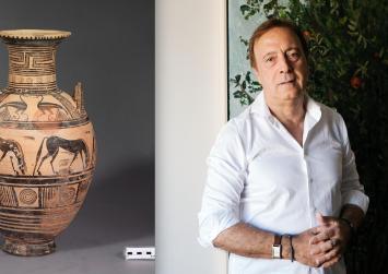 Η Κρήτη τιμά τον Καθηγητή Αρχαιολογίας, Νίκο Σταμπολίδη