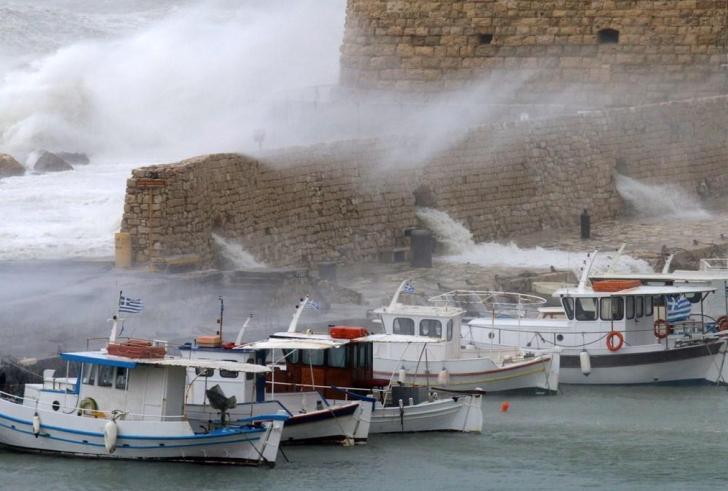 Το Λιμεναρχείο Ηράκλειου προειδοποιεί για τα καιρικά φαινόμενα σήμερα Τετάρτη