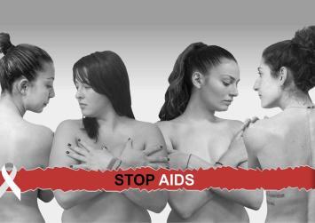 Δυνατό μήνυμα από τα κορίτσια του ΓΑΣΜ για την Παγκόσμια Ημέρα κατά του AIDS