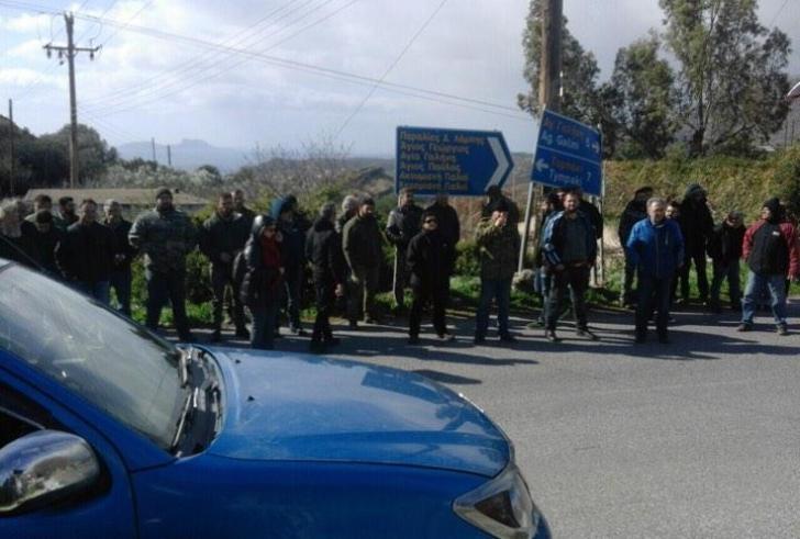 Νέα κινητοποίηση από τους αγρότες Πλατάνου, Μελάμπων, Τυμπακίου στις 21 Φεβρουαρίου
