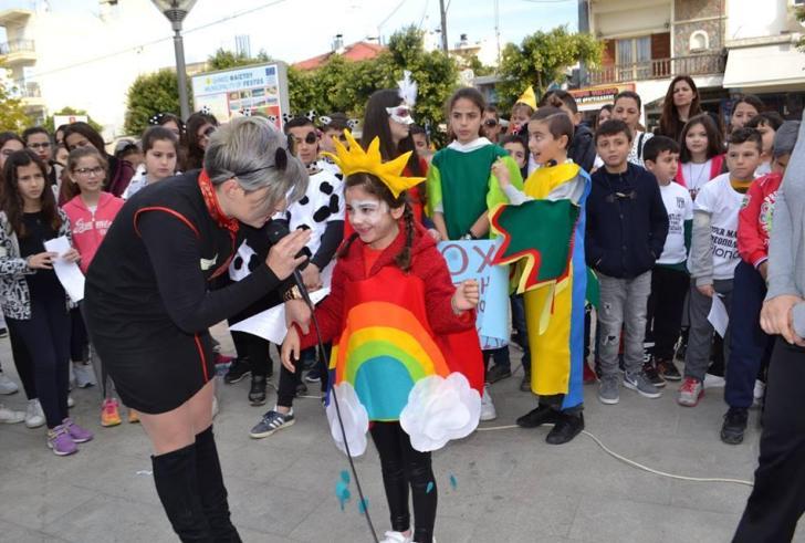 Κέφι, μουσική και διασκέδαση στο Παιδικό Κυνήγι Θησαυρού στις Μοίρες