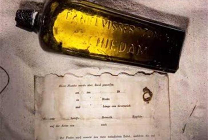 Στην Αυστραλία το παλαιότερο μήνυμα μέσα σε μπουκάλι