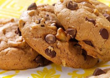 Νηστίσιμα γλυκά: μπισκότα με σοκολάτα