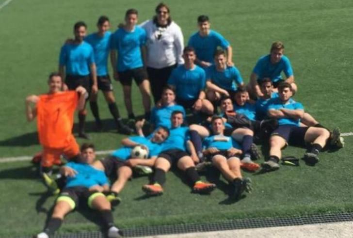 """Στους """"8"""" το ΓΕΛ Τυμπακίου, 2-1 την Αγία Βαρβάρα"""
