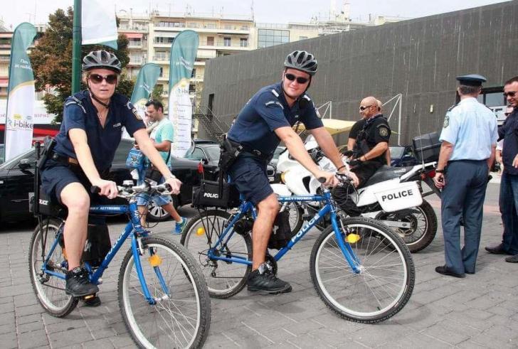 Σε τρεις μεγάλες πόλεις της Κρήτης οι ποδηλάτες της ΕΛ.ΑΣ