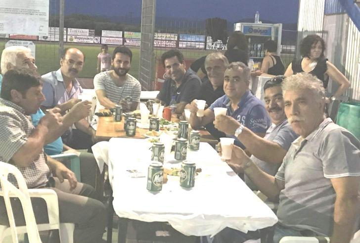 Οι τυχεροί της κλήρωσης και το τραπέζι της ΑΕΜ