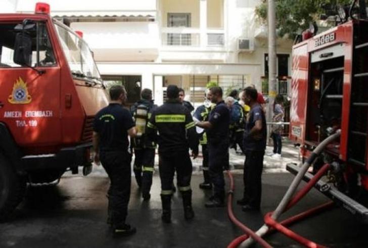 Φωτιά σε καφενείο στο Ηράκλειο