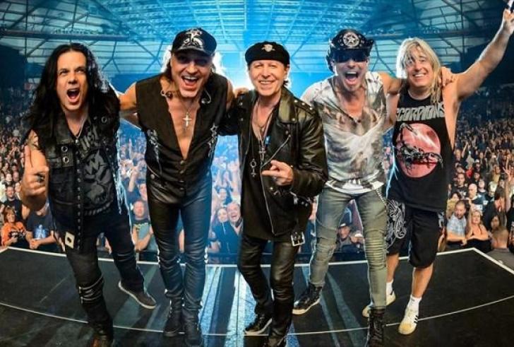 Σήμερα η πολυαναμενόμενη συναυλία των Scorpions