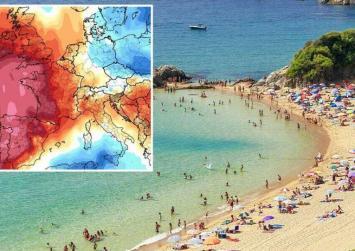 Ο καύσωνας της χιλιετίας θα χτυπήσει την Ευρώπη -Στην Ιβηρική θα αγγίξει τους 50 βαθμούς