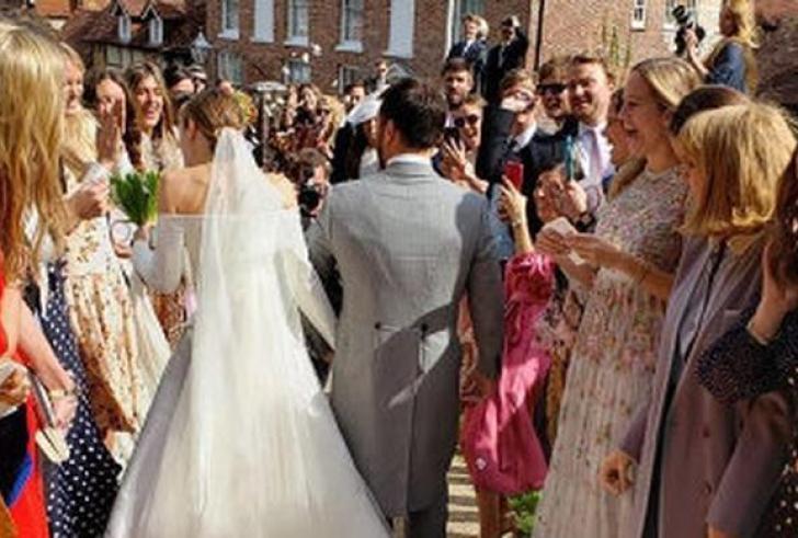 Λαμπερός γάμος για Έλληνα χρυσό κληρονόμο και την αγαπημένη του στο Λονδίνο!