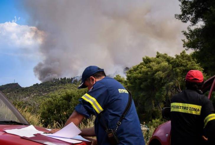 Σε εξέλιξη μεγάλη Πυρκαγιά στην Ηλεία