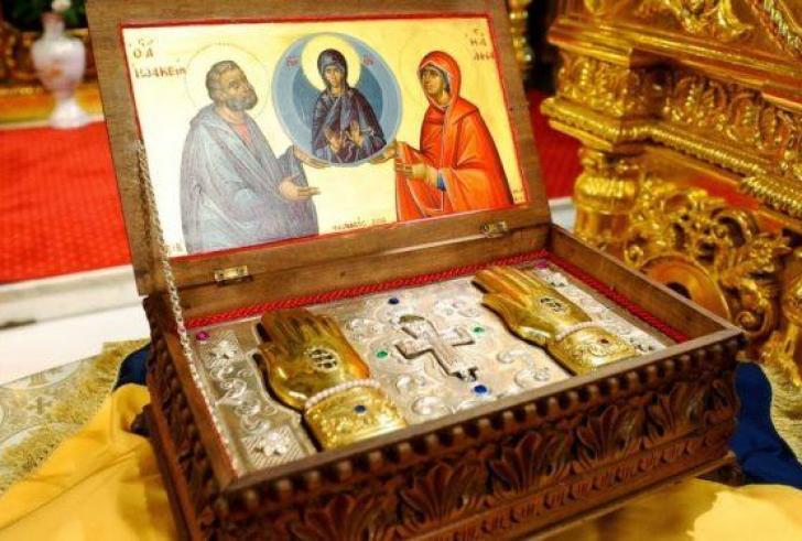 Τα ιερά λείψανα των Θεοπατόρων Ιωακείμ και Άννης υποδέχονται στο Χουδέτσι