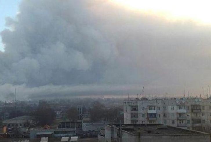 Εκρηξη σε αποθήκη πυρομαχικών στην Ουκρανία – Απομακρύνονται 10.000 κάτοικοι