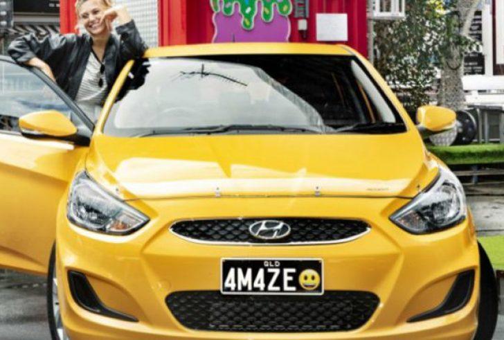 Έφτασαν οι πρώτες πινακίδες αυτοκινήτων με Emojis!