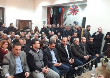 """Ο Λ. Αυγενάκης """"ξεδιπλώνει"""" το πρόγραμμα της ΝΔ για το νομό Ηρακλείου (φώτο)"""