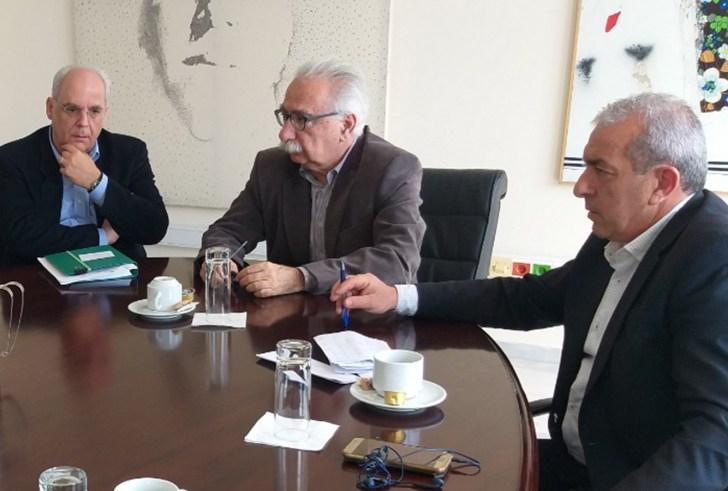 Συνάντηση Σωκράτη Βαρδάκη με την ηγεσία του Υπουργείου Παιδείας