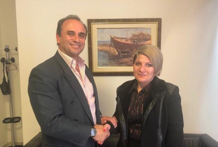 Με την παράταξη του υποψήφιου Δημάρχου Φαιστού Γιάννη Μαθιουδάκη, η Νατάσα Κακουλάκη από το Τυμπάκι