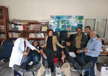 Με επιτυχία η εθελοντική αιμοδοσία στους Βώρρους (φώτο)