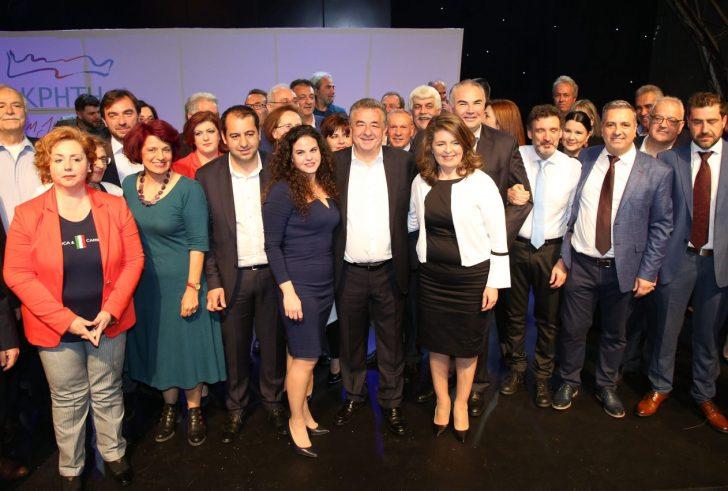 Παρουσίαση συνδυασμού και υποψηφίων του Σταύρου Αρναουτάκη (φώτο)