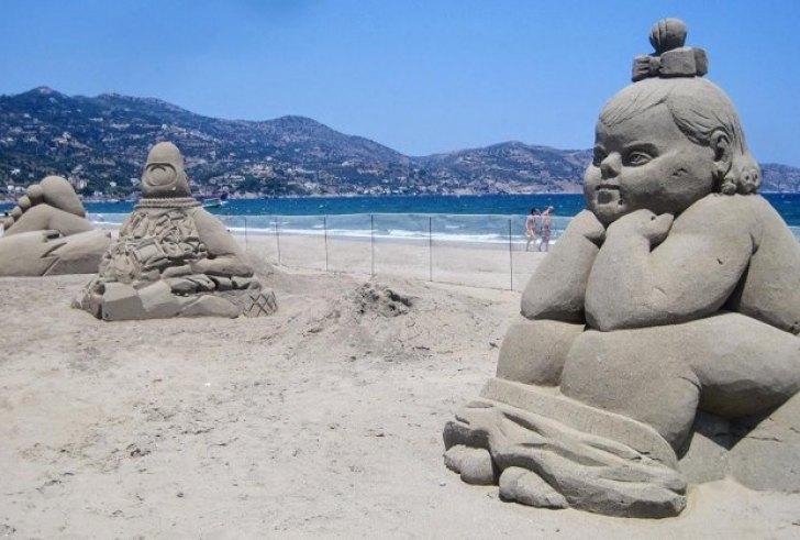 2ο Φεστιβάλ Γλυπτικής στην άμμο στην Αμμουδάρα