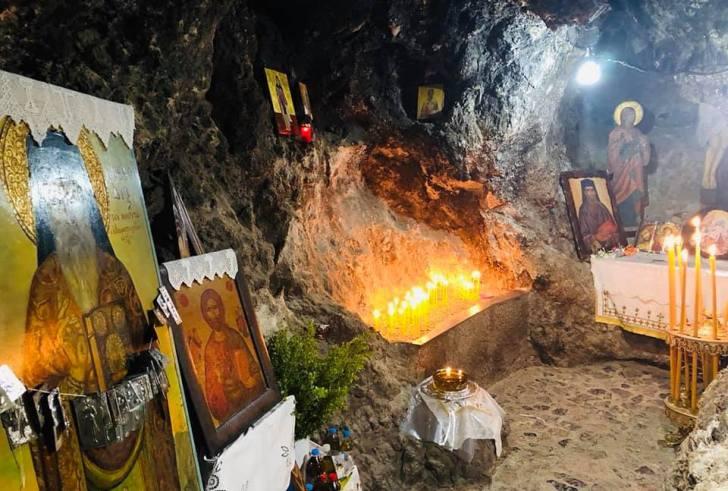 Πανηγυρικός εορτασμός του Αγίου Μεθοδίου του εν Νυβρίτω (ΦΩΤΟ)
