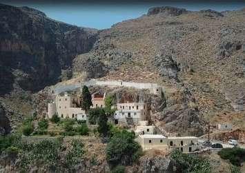 Μαγευτική η Μονή Καψά στην Νότια Κρήτη (βίντεο)