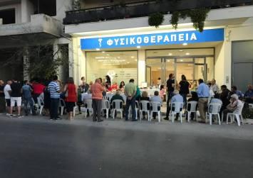 Εγκαίνια Κέντρου Φυσικοθεραπείας Νίκου Ταγαράκη στο Τυμπάκι (φώτο)