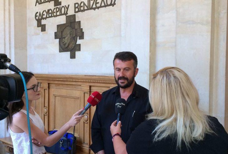 Στην συνεδρίαση της ΠΕΔ Κρήτης ο νέος δήμαρχος Γόρτυνας, Μιχάλης Κοκολάκης
