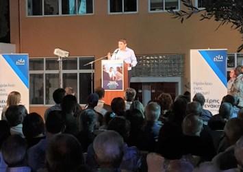 Αυγενάκης από Μοίρες: «Για μένα η Μεσαρά είναι προτεραιότητα. Και θα είναι και την επόμενη ημέρα»