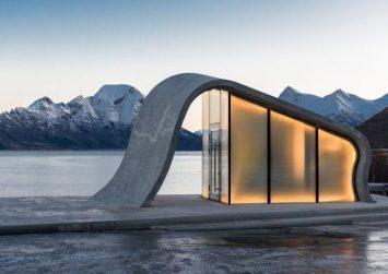 Το κτήριο που βλέπετε είναι δημόσια τουαλέτα στη Νορβηγία!
