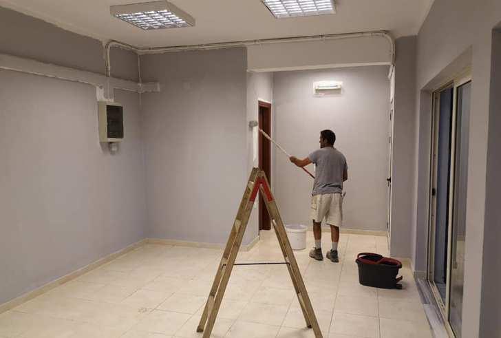 Κλειστό γυμναστήριο ετοιμάζει ο Πολιτιστικός Σύλλογος Λαρανίου (φώτο)