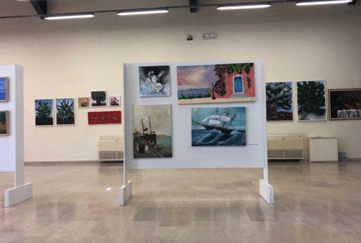 Συνεχίζεται εντυπωσιακή ομαδική έκθεση από το «Εργαστήρι Ζωγραφικής Τυμπακίου»