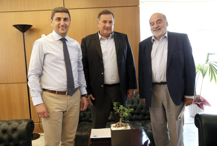 Συνάντηση Λ. Αυγενάκη με το προεδρείο της Ελληνικής Ολυμπιακής Επιτροπής