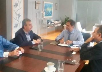 Συνάντηση Περιφερειάρχη Κρήτης με την πολιτική ηγεσία του Υπουργείου Τουρισμού