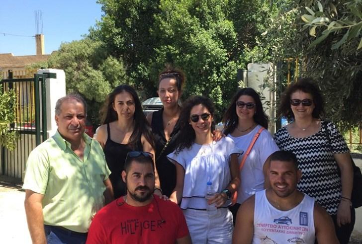 """Οι φυσικοθεραπευτές Ηρακλείου και ο «Άγιος Τίτος» προσφέρουν στο """"ΜΕΛΛΟΝ"""""""