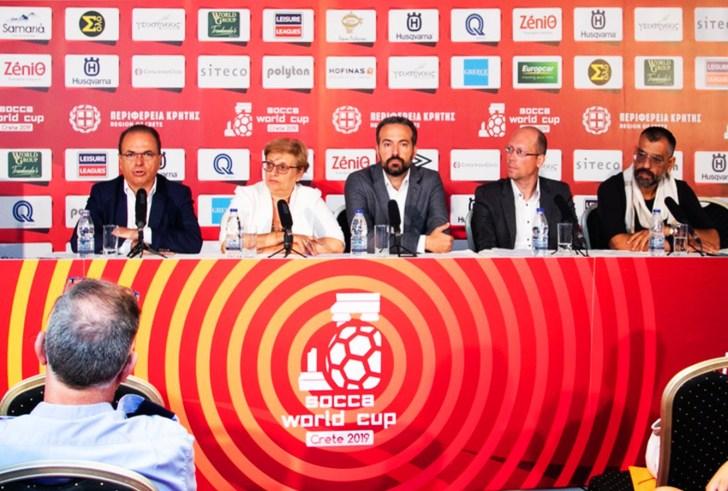 Πανέτοιμο το Ρέθυμνο για το μουντιάλ μίνι ποδοσφαίρου SOCCA World Cup!
