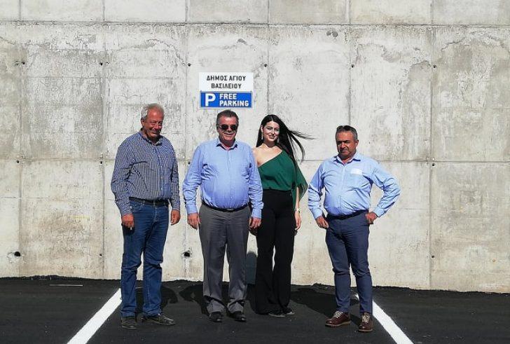 Νέος χώρος στάθμευσης 62 θέσεων κατασκευάστηκε στην Κοινότητα Μύρθιου