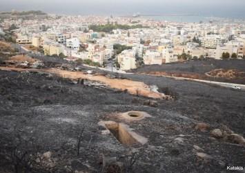 Ρέθυμνο: Σε εμπρησμό αποδίδεται η πυρκαγιά – Η φωτιά αποκάλυψε τις ελλείψεις