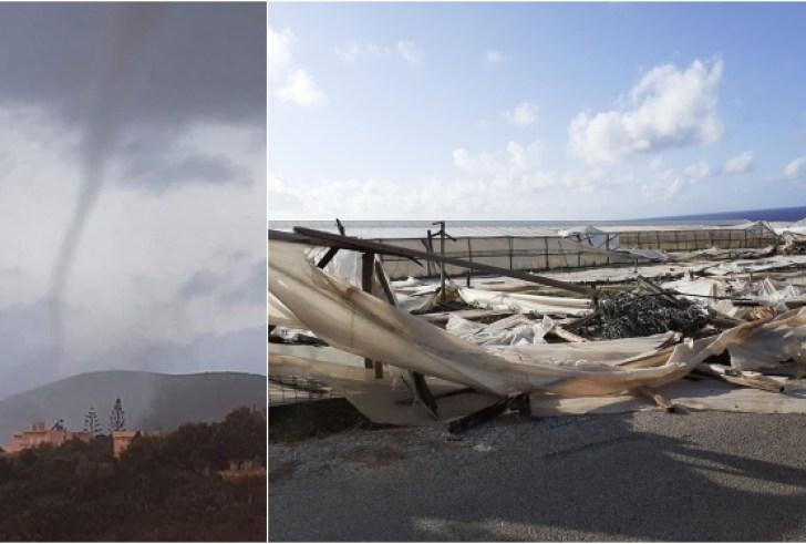 Κρήτη: Ανεμοστρόβιλος προκάλεσε μεγάλες καταστροφές σε θερμοκήπια (φώτο)