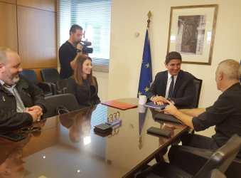 Συνάντηση Λ. Αυγενάκη με την ΠΑΕ Ολυμπιακός