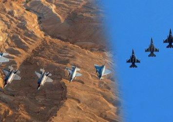 """Ζεσταίνουν τους κινητήρες τα Κρητικά «γεράκια» – F16 Block 52 plus """"εναντίον"""" Rafale νότια της Κρήτη"""