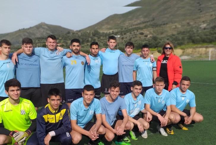 Σχολικό Πρωτάθλημα ποδοσφαίρου και Βόλεϊ Λυκείων (φώτο)
